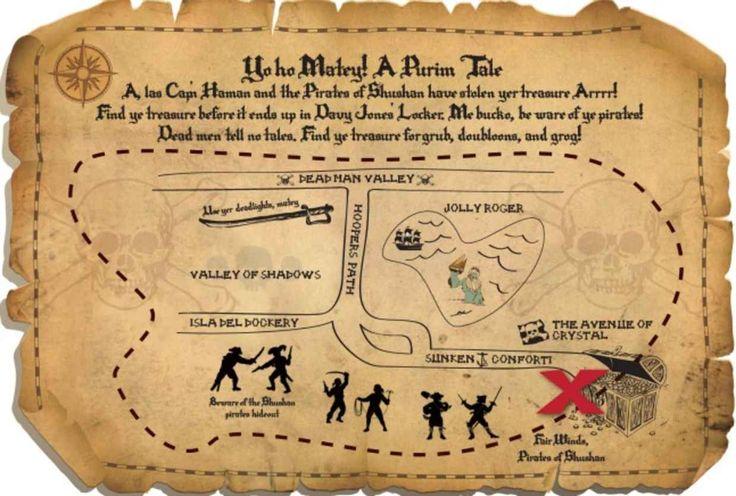 A Pirate Purim Party - Joy of Kosher