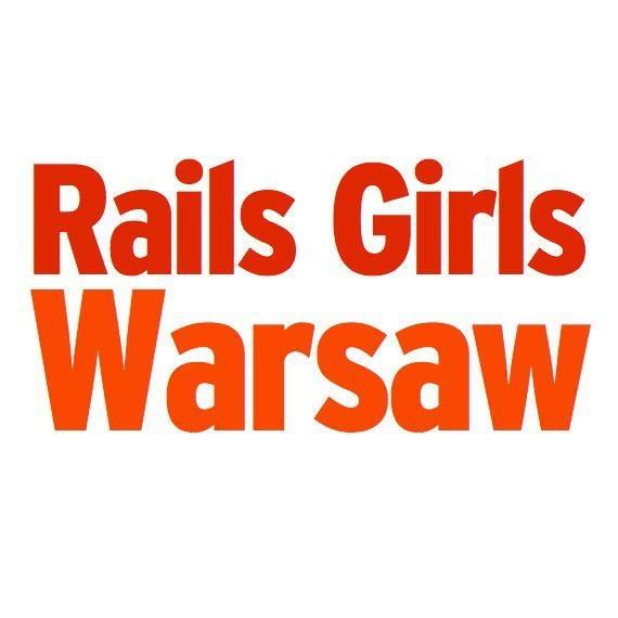 Rails Girls Warsaw - oficjalne logo  #warsaw #warszawa #workshop