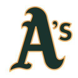 Oakland athletics logo capt ball