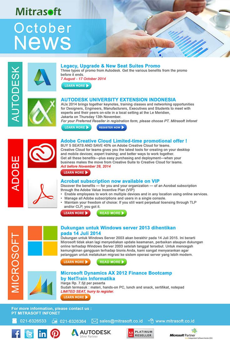 #Mitrasoft October 2014 News #MitrasoftNews