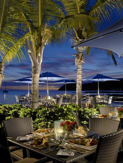 The Landings St. Lucia. Patio view at night. #stlucia #thelandings #dreamvacation