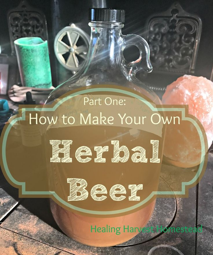 My husband (Mr. HHH) and I started our home brewing journey a few years ago  using the pre-made kits from the local home brew store because we didn't  know what we were doing, quite frankly.  Then I read Stephen Harrod  Buhner's book, Sacred & Herbal Healing Beers, and became entranced with