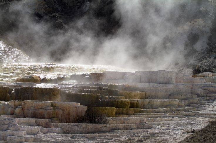 Yellowstone #yellowstone #nationalpark #hot #spring #smoke http://hikersbay.com/go/usa