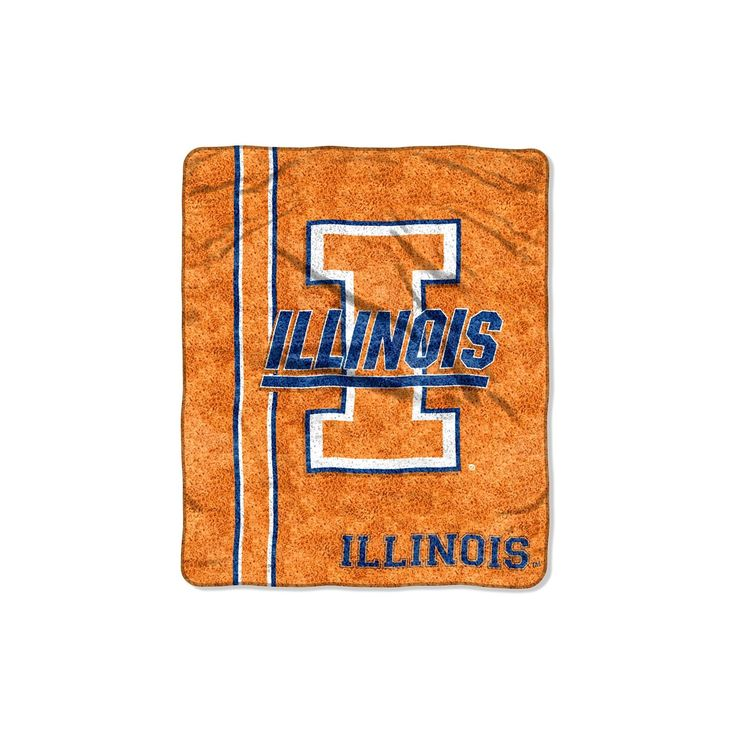 NCAA Sherpa Throw-Illinois Fighting Illini, Illinois Fighting Illini