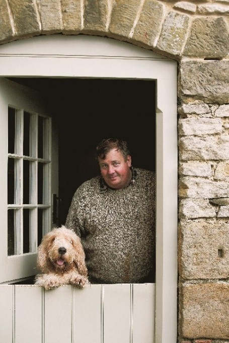 Stable door, and shaggy dog