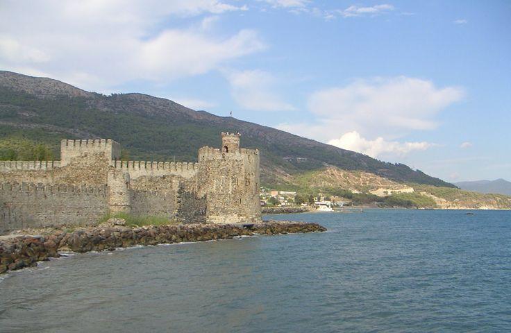 Anamur - eine Festung direkt am Meer