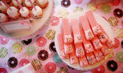 PoppyPoppy Event Design: baby shower, sprinkle, it's a girl, sweets table Event Design