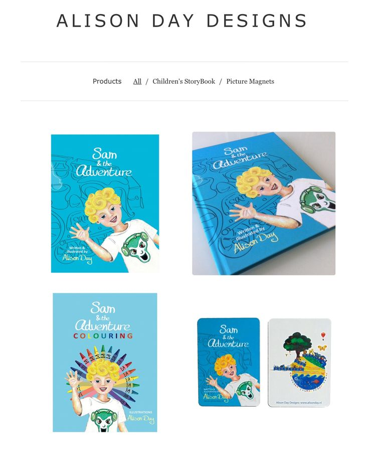 Sam & the Adventure by Alison Day.  A children's storybook and accompanying colouring book.  Newsletter - for more info and creativity: http://alisonday.us8.list-manage.com/subscribe?u=f0ee923eb109c974f6e7d72c2&id=d783011ad5