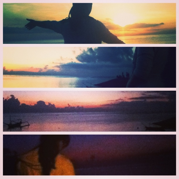 The Sunrise.. one of the most beautiful moment in Bali.. #Sanur #mybirthdaysunrise #bali