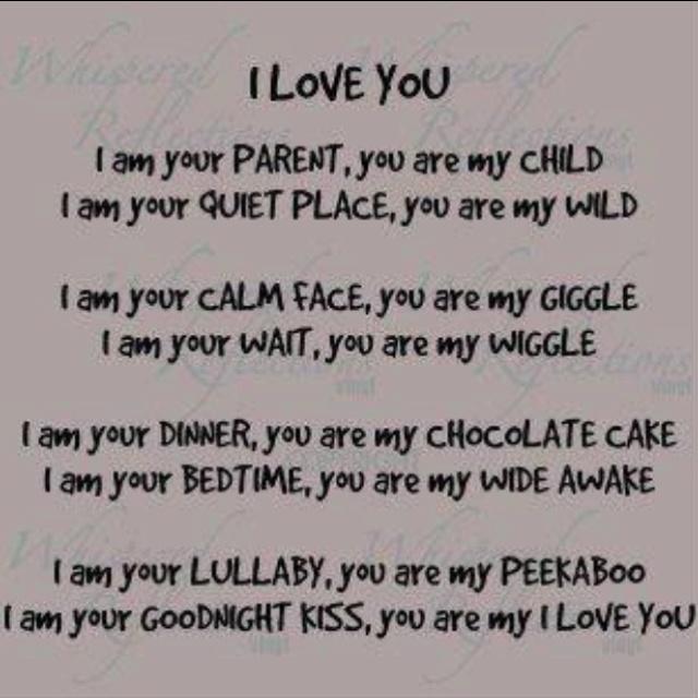 I love my son!