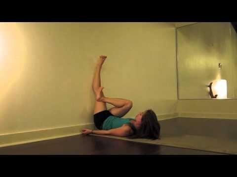 Rob's Stretch Suggestions (Lowerback): piriformis wall stretch - Lauren Rudick
