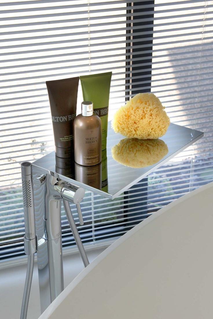 Hansgrohe freestanding bath filler / shelf