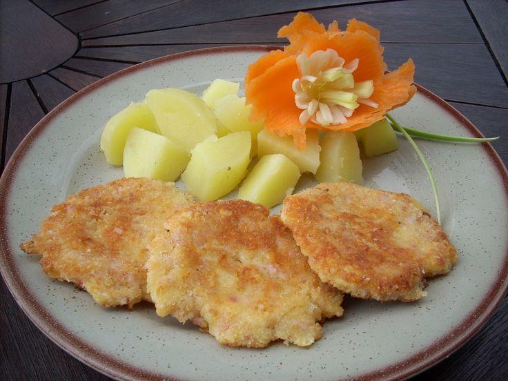 hermelínové placičky (vejce,poličan,strouhanka)
