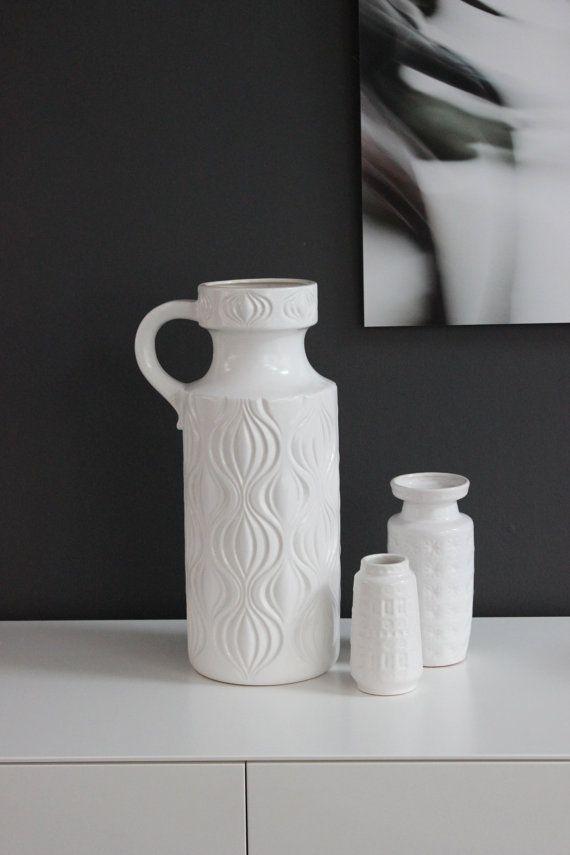 Die besten 25+ Bodenvase weiß Ideen auf Pinterest Foyer - grose vasen fur wohnzimmer