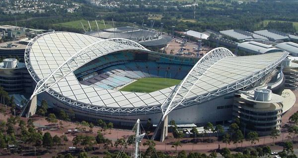 ANZ Stadium, Homebush Sydney: - The Stadium used for Sydney's 2000 Olympics, 2015 Asian World Cup and other major events.