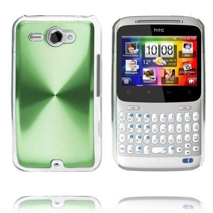 Alumiini Suojus (Vihreä) HTC ChaCha Suojakuori