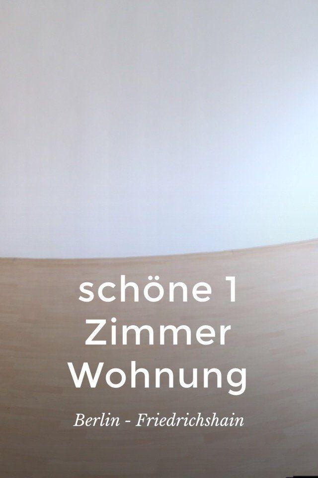 #schöne 1 Zimmer  #Wohnung in #Berlin - #Friedrichshain mit  #Duschbad