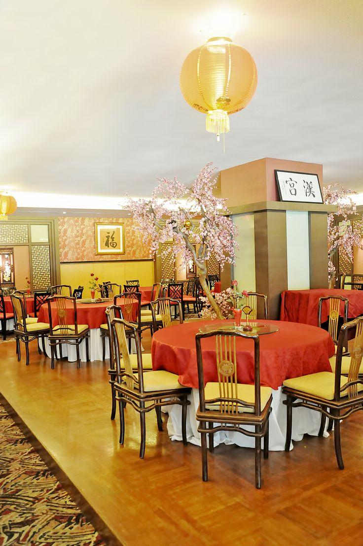 Noble Court 2nd Floor at Gumaya Tower Hotel #deco #decoration #chinese #restaurant #hotel #travel