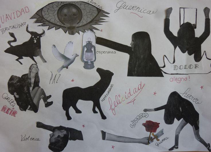 Trabajo final sobre Guernica (Olé Lardy - S.LALOUM)