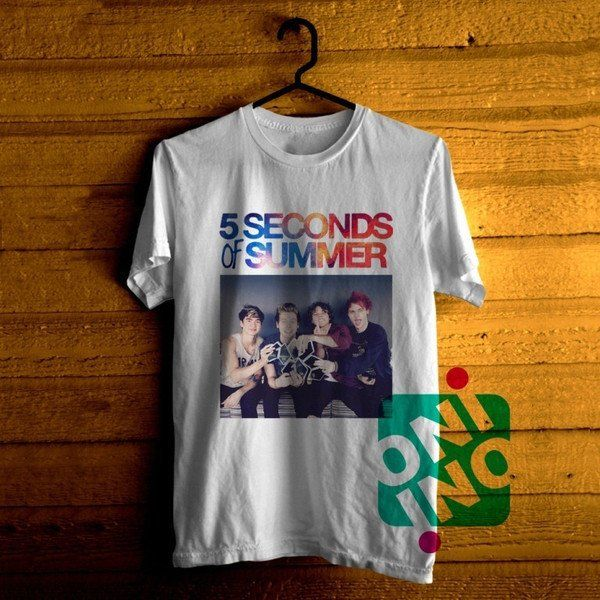 5 Seconds of Summer Tshirt For Men / Women Shirt Color Tees