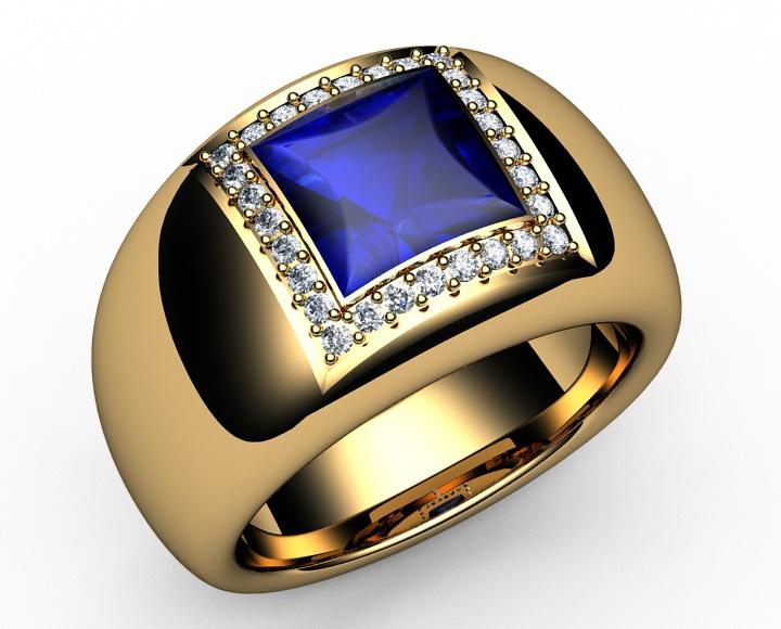 1 78 Ct 18k Gold Diamonds Amp Princess Cut Strong Vivid