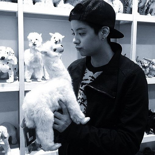 f(x) Amber, In Love With A Stuffed Llama That Looks Like Her http://www.kpopstarz.com/articles/141587/20141125/f-x-amber-in-love-with-a-stuffed-llama-that-looks-like-her.htm