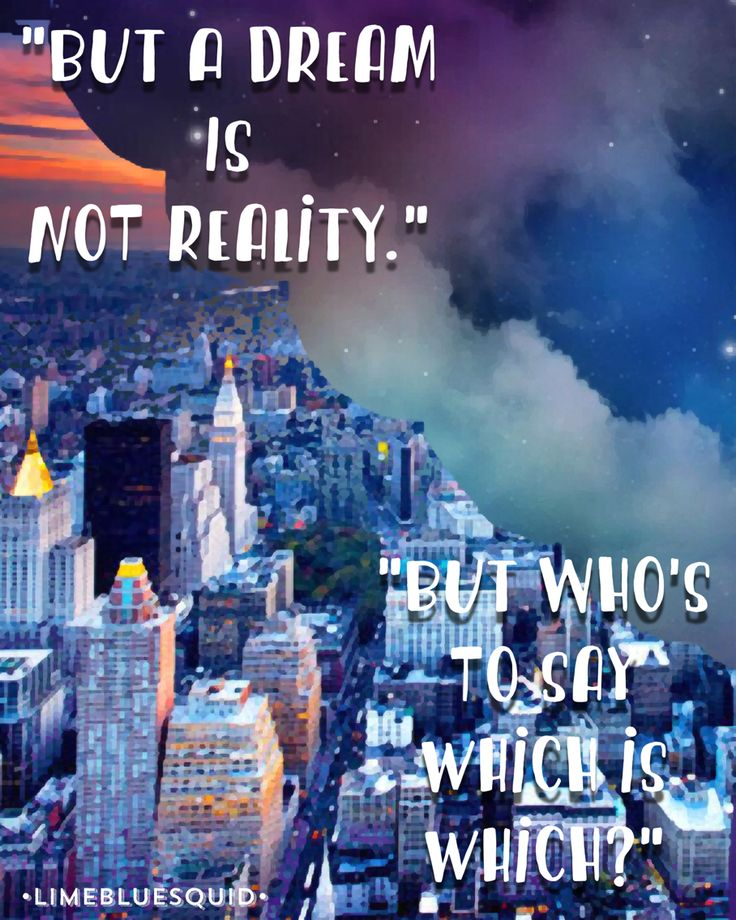 """Quote from """"Alice Through the Looking Glass"""" (original edit)"""