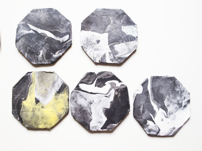 milowcostblog: diy: posavasos de mármol
