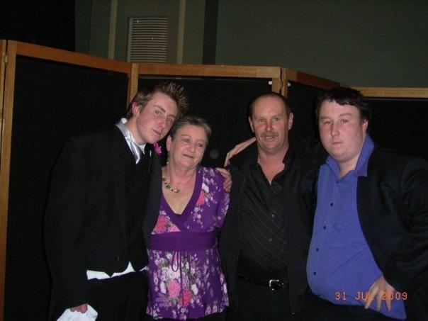 the family at lukes deb