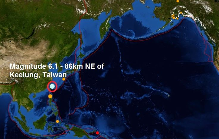 The Big Wobble Almanac : Magnitude 6.1 - 86km NE of Keelung, Taiwan, this i...  Today's earthquake is this years 150th quake measuring magnitude 6 or more and the 5th of December. Last month, November a total of 11 Magnitude 6 or larger earthquakes were registered. The biggest quake this year was a magnitude 8.2- 94km NW of Iquique, Chile on the second of April earlier in the year.