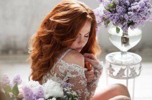 Невесты с рыжими волосами