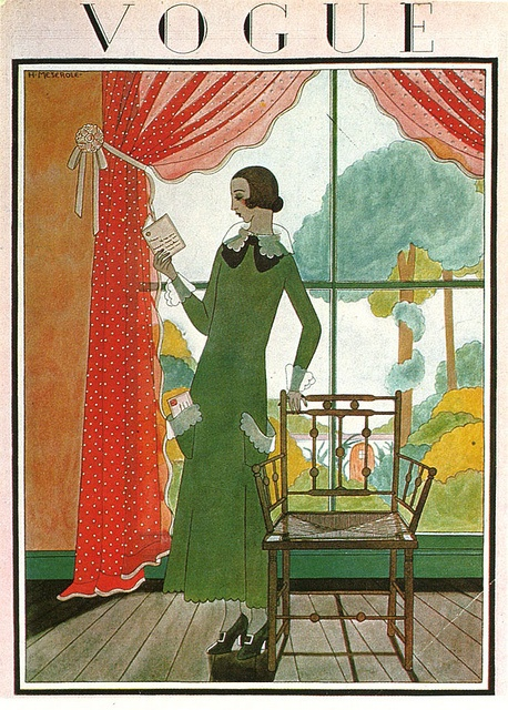 Vogue Cover by Harriet Meserol, March 1923