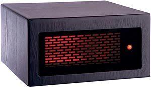 American Comfort Mini Infrared Heater - Espresso