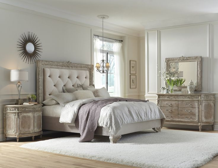 Best Accentrics Home Bedroom Images On Pinterest Pulaski - French country bedroom sets