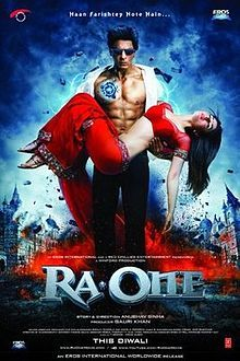 Theatrical poster for Ra.One