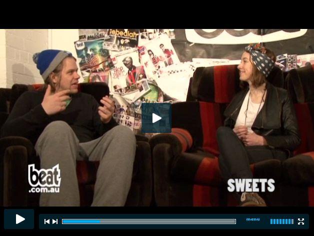 Beat TV Interview: http://www.beat.com.au/tv/sweets