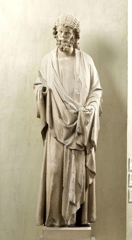 Apôtre de la sainte Chapelle, musée du moyen âge, Cluny
