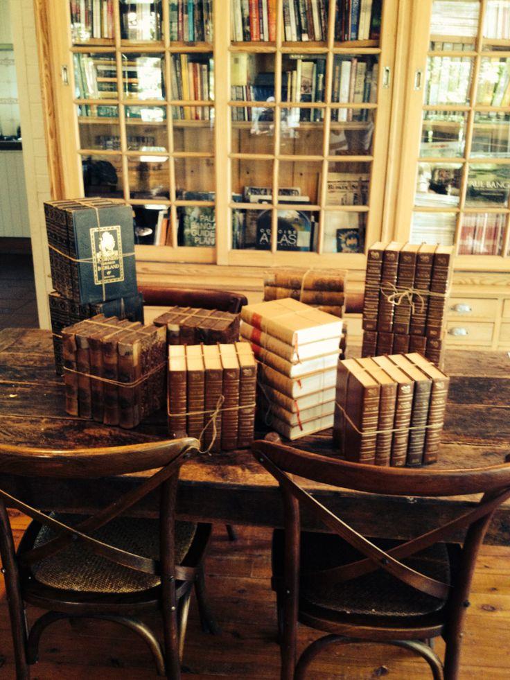 Antique book bundles