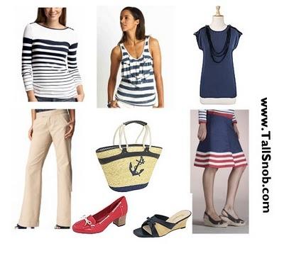 Womens #tall nautical clothing. @tallclothingmal