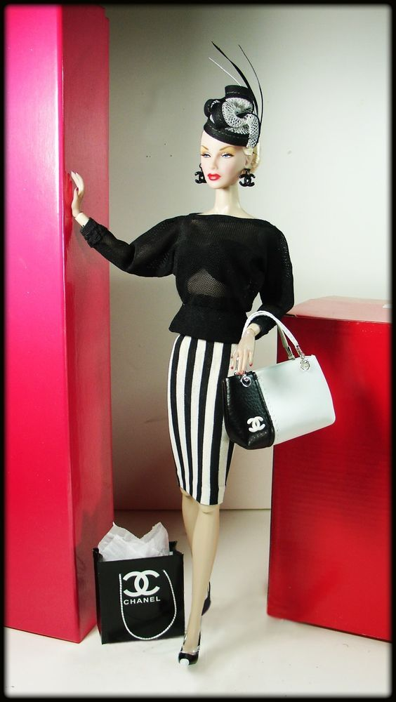 OOAK Fashions for Silkstone / Vintage barbie / Fashion Royalty / Poppy Parker