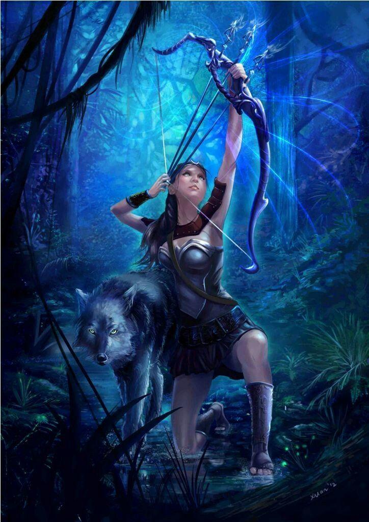 Artemis (Grieks: Άρτεμις) is de godin van de jacht en demaan. Zij behoorde daarna tot de twaalf goden van het Griekse Pantheon en is daar een dochter van de oppergod Zeus en Leto en tweelingzuster van Apollon. De Latijnse naam van Artemis is Diana.