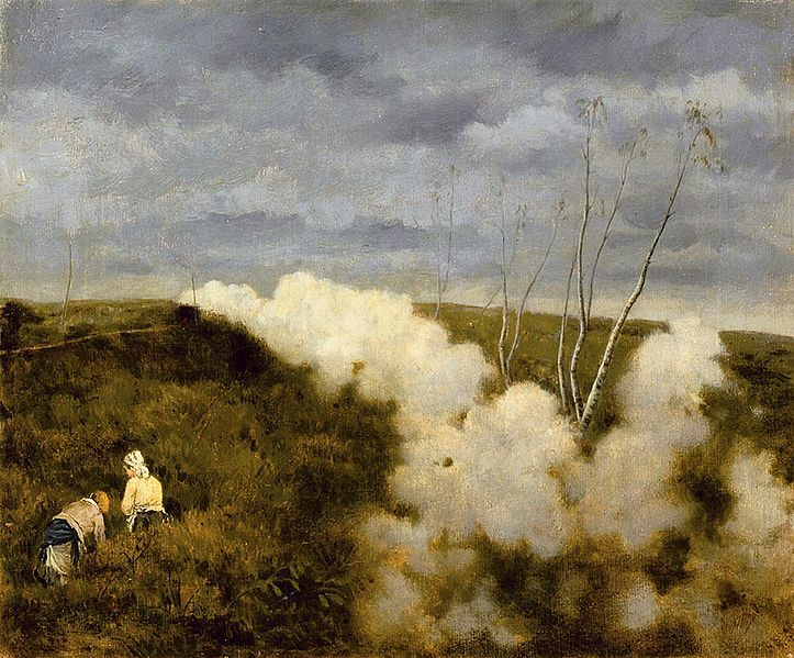 Giuseppe de Nittis - Passa il treno