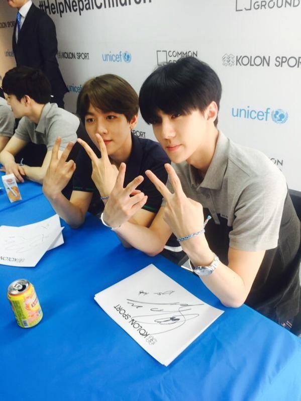 Baekhyun + Sehun