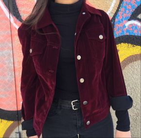 throwback fashion, velvet, jacket, vintage, hipster | TheHunt.com