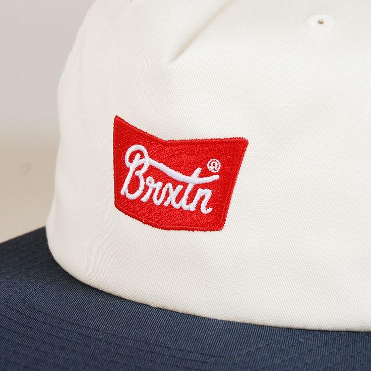 Brixton Stith Snapback - Off White/Navy