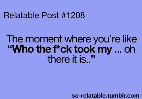 Literally on a daily basis... LOL