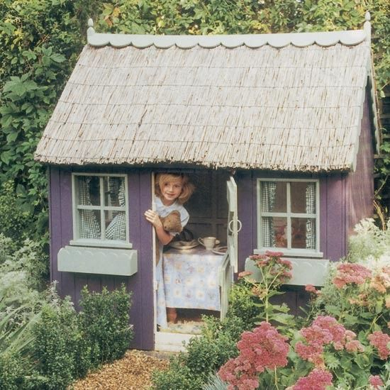 perfect playhouse for an enchanted garden...