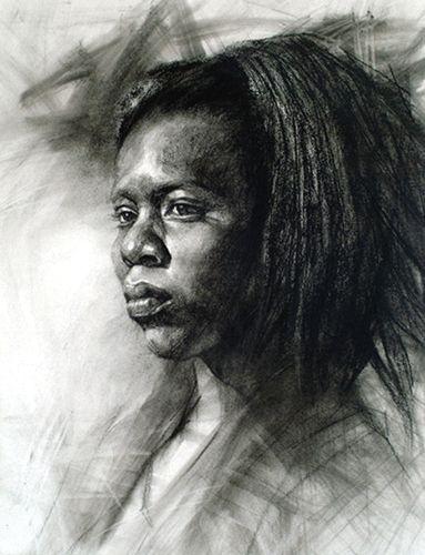 Toni (pastel) by Z.L. Feng   pastel portraits