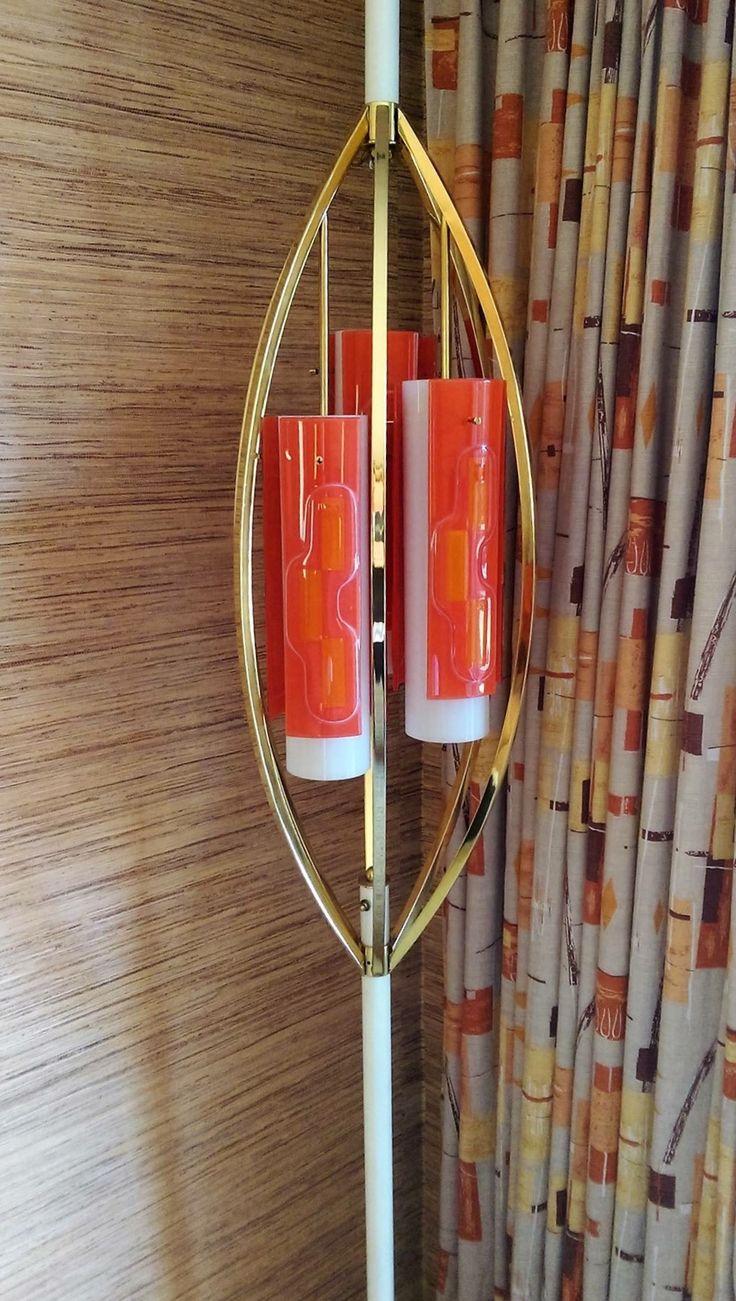 Asian pole lamps