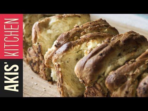 Feta Cheese Bread   Akis Petretzikis